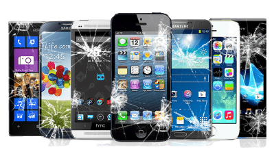 screen crack phone repair in wellington service